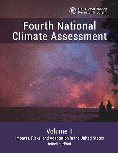 Cover of 4th National Climate Assessment, Part II