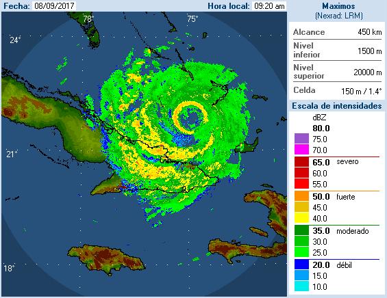 Irma radar