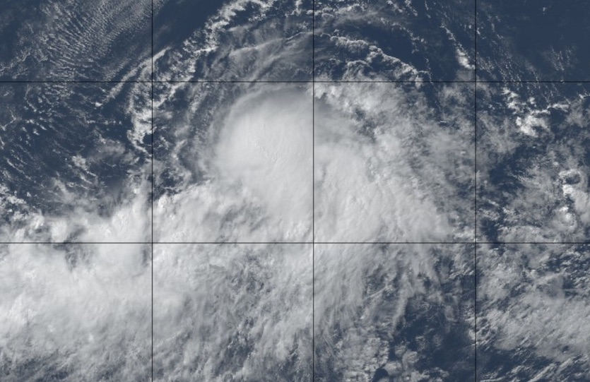 Natural-color image of Hurricane Flossie at 2315Z 7/30/2019