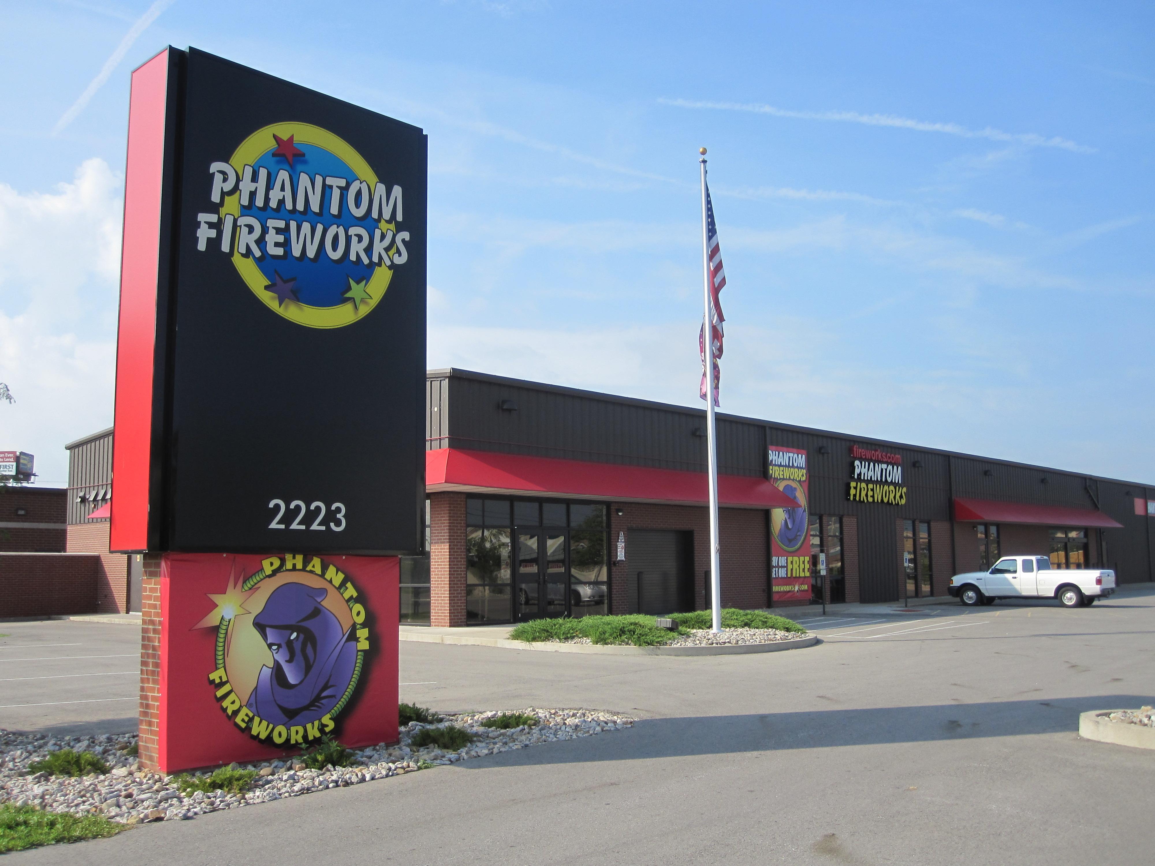 Phantom Fireworks Locations Indiana