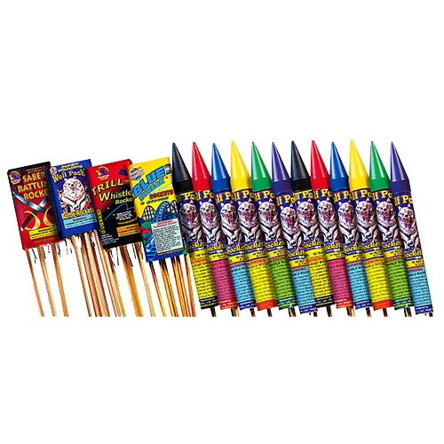 Skyburst Rocketry Assortment