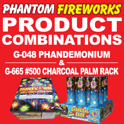 Phandemonium and 500 Charcoal Palm Rack