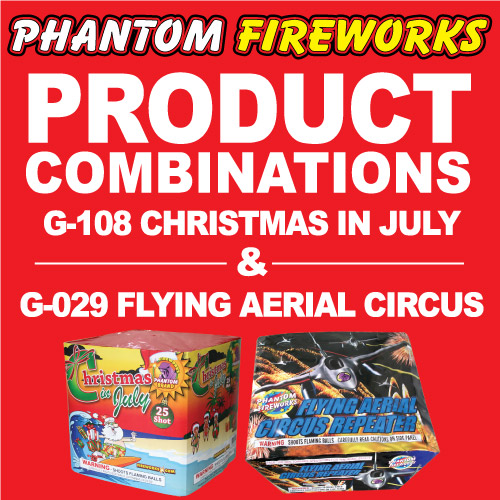 Flying Aerial Circus and Christmas in July