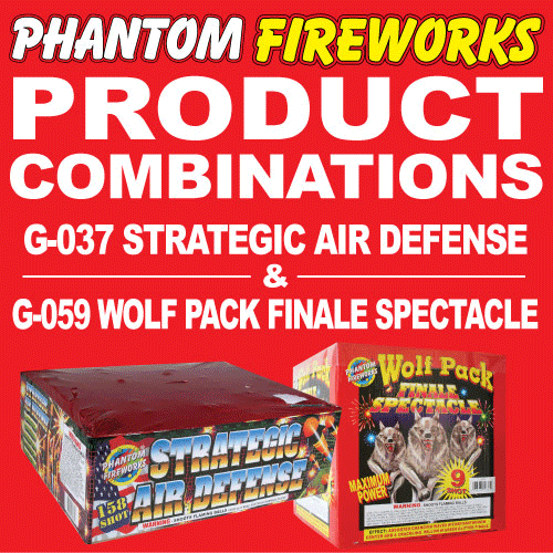 Strategic Air Defense and Wolf Pack Finale Spectacle
