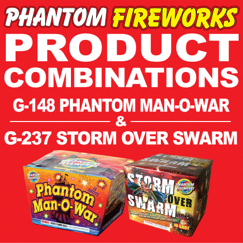 Phantom Man-O-War and Storm Over Swarm