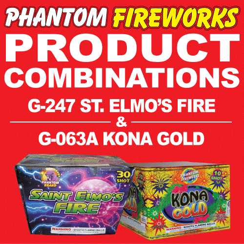 St Elmo's Fire and Kona Gold