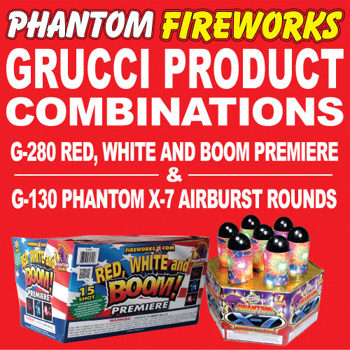 Red, White and Boom Premiere and Phantom X-7 Airburst Rounds