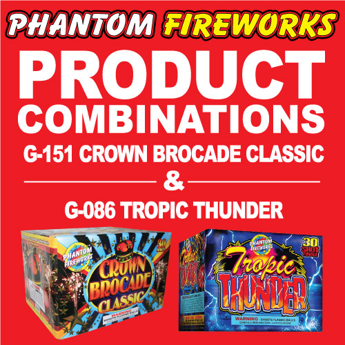 Crown Brocade Classic and Tropic Thunder