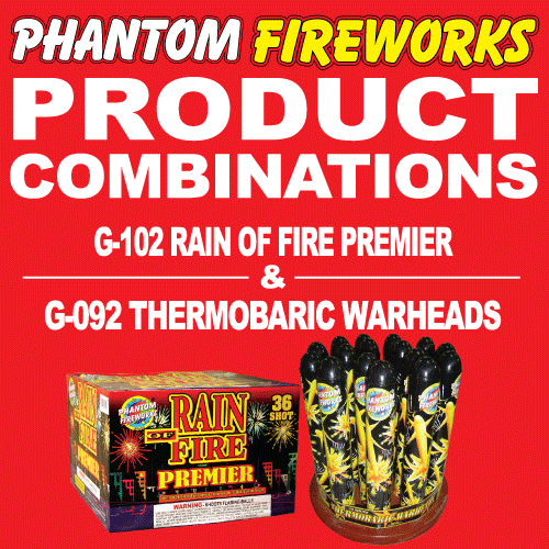 Rain of Fire Premiere and Thermobaric Warheads