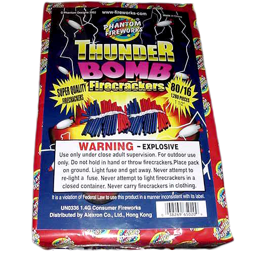 80-16 THUNDERBOMB CRACKERS V