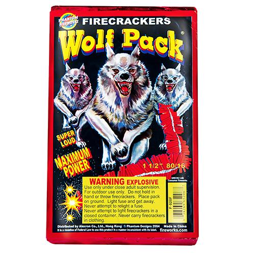 80/16 BRICK WOLF PACK