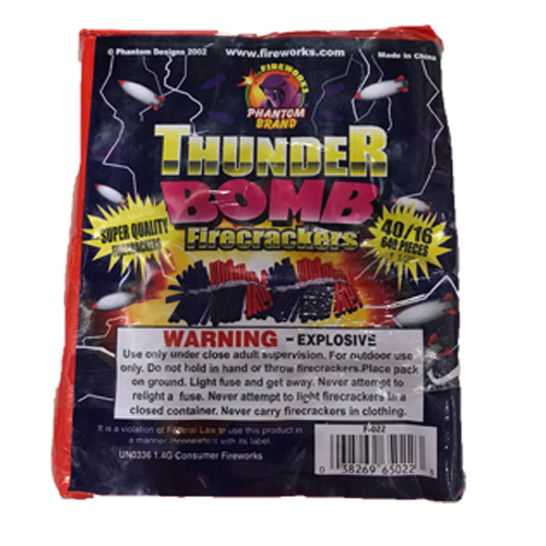 24-40-16 FIRECRACKER THUNDERB