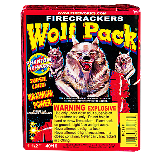 Wolfpack Crackers - Half Brick