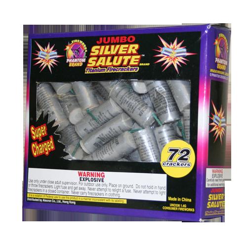 Jumbo Silver Salute Crackers