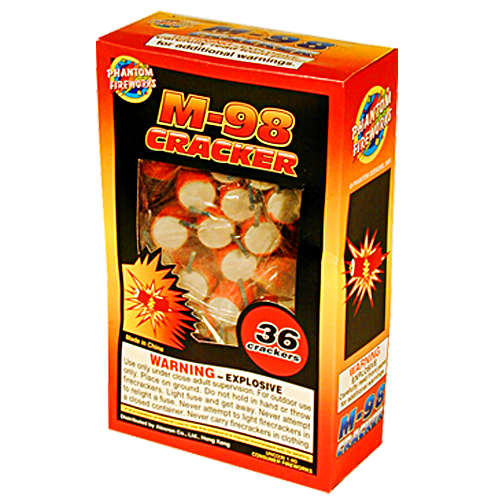 M-98 Firecracker 36 Piece Box