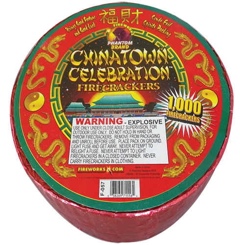 Chinatown Red Crackers 1000ct