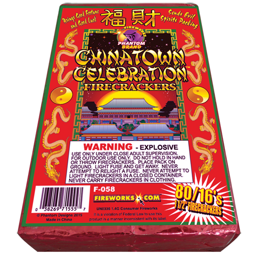 Chinatown Red Crackers 80/16's