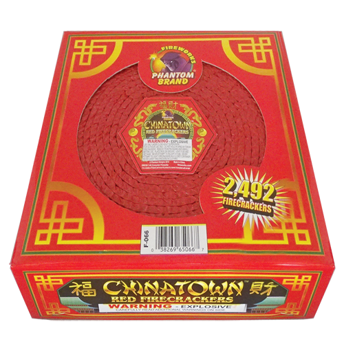 Chinatown Red Crackers 2492 ct