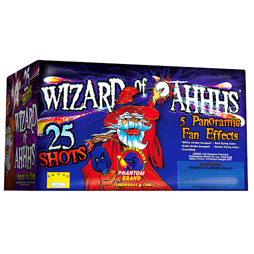 Wizard Of Ahhhs, 25-Shot