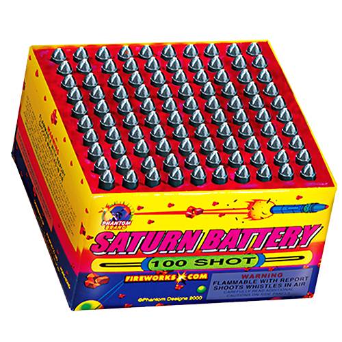 100 Shot Saturn Battery