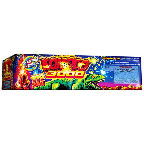 Komodo 3000, 119-Shot