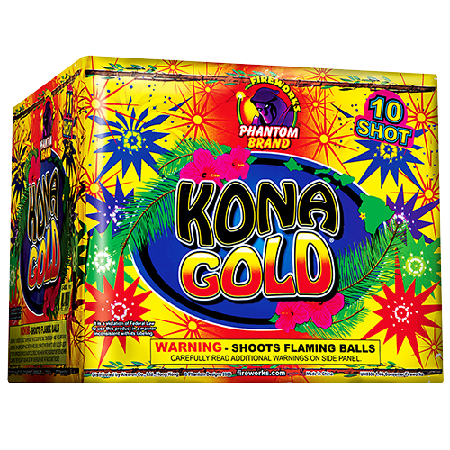 Kona Gold, 10-Shot