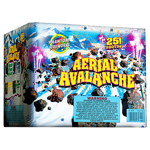 Aerial Avalanche, 25-Shot