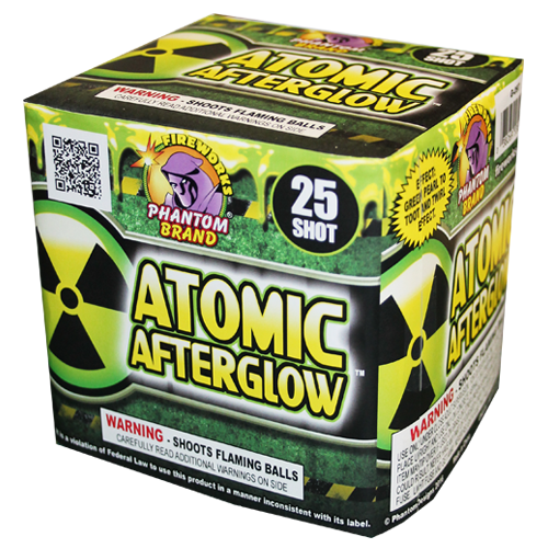 ATOMIC AFTERGLOW 25 SHOT  12-1