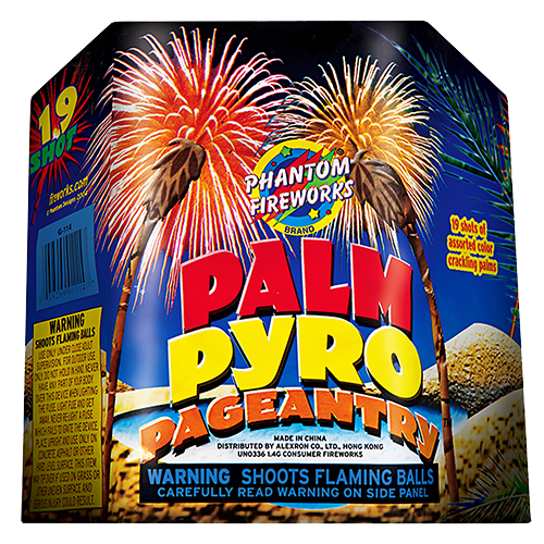 Palm Pyro Pageantry