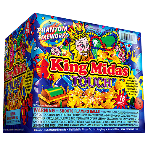 King Midas Touch, 16-Shot ($69.99 value)