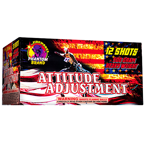 Attitude Adjustment 12 Shot ($199.99 Value)