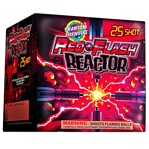 Red-Flash Reactor, 25-Shot