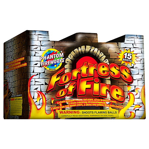 Fortress Of Fire, 15-Shot