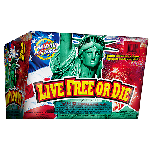 Live Free Or Die, 21-Shot ($99.99 value)