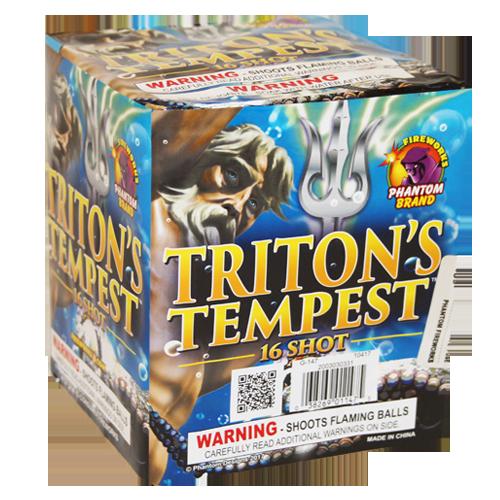 TRITON'S TEMPEST, 16 Shot