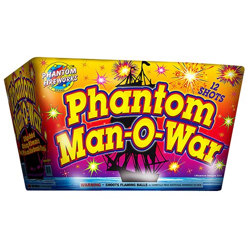 Phantom Man-O-War, 12-Shot