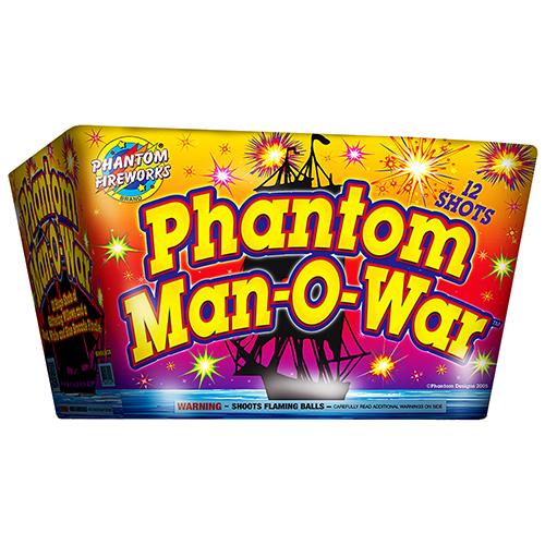 Phantom Man-O-War, 12-Shot