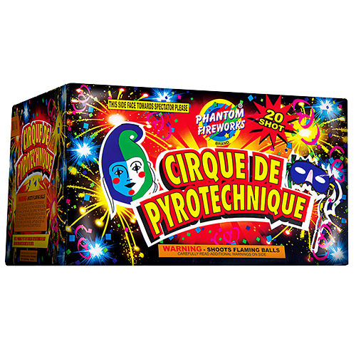 Cirque De Pyrotechnique, 20-Shot