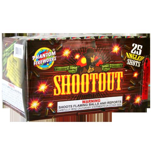 Shootout,25 Shots Angled 12