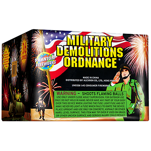Military Demolition Ordnance, 36-Shot
