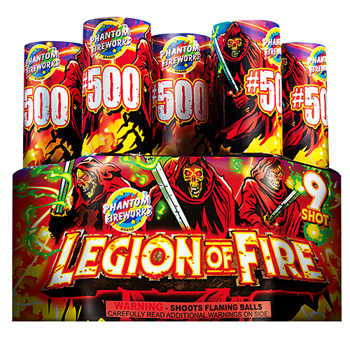 Legion of Fire #500 Finale