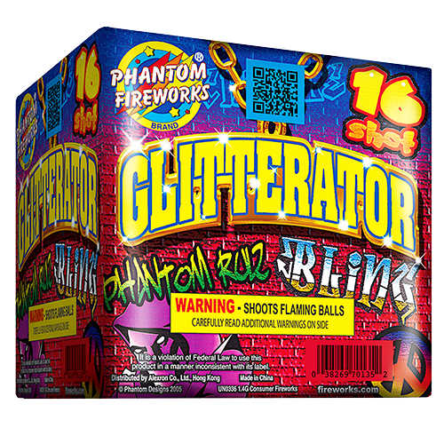 Glitterator, 16-Shot