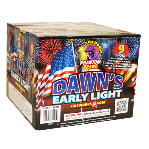 Dawn's Early Light ($49.99 value)