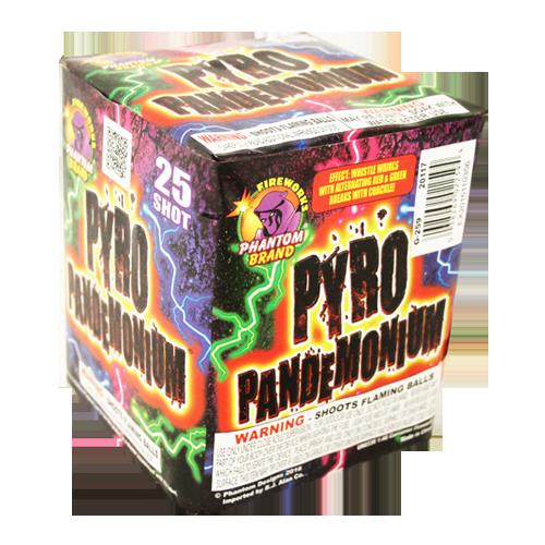 PYRO-PANDEMONIUM 25 SH. 18-1