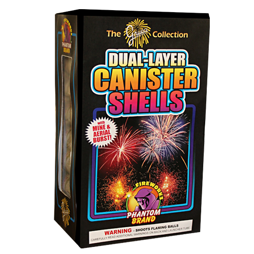 Dual-Layer Canister Shells 8-12