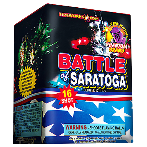 Battle of Saratoga 16-Shot
