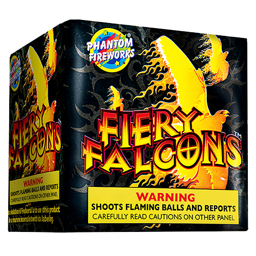 Fiery Falcons, 16-Shot
