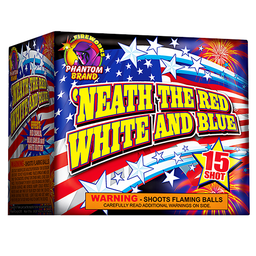 Neath' The Red, White And Blue