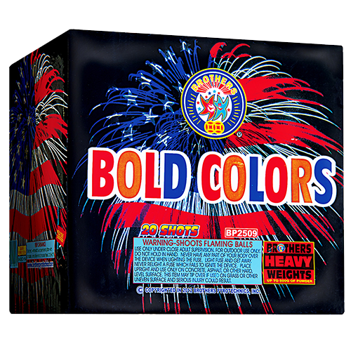 Bold Colors, 20-Shot