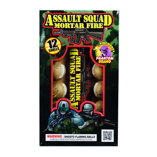 Assault Squad Mortar Fire